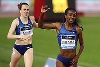Genzebe DIBABA (ETH) wins the race 1500m Women<br /> Roma 06-06-2019 Stadio Olimpico, <br /> IAAF Diamond League Golden Gala<br /> Meeting Atletica Leggera <br /> Photo Cesare Purini / Insidefoto