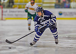 14 February 2015: University of New Hampshire Wildcat Forward Cassandra Vilgrain, a Sophomore from Calgary, Alberta, in second period action against the University of Vermont Catamounts at Gutterson Fieldhouse in Burlington, Vermont. The Ladies played to a 3-3 tie in their final meeting of the NCAA Hockey East season. Mandatory Credit: Ed Wolfstein Photo *** RAW (NEF) Image File Available ***
