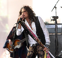 NEW YORK, NY-June 24: Steven Tyler perform on NBC's Today Show Citi Concert Series at Rockefeller Center in New York. NY June 24, 2016. Credit:RW/MediaPunch