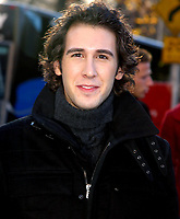 JOSH GROBAN 2002<br /> THE 76TH ANNUAL MACY'S THANKSGIVING DAY PARADE IN NEW YORK CITY<br /> Photo By John Barrett/PHOTOlink.net /MediaPunch