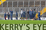 Kerry's selectors  at the 2015 Waterford Crystal Cup Senior Hurling Quarter Final against UCC in Austin Stack Park on Saturday