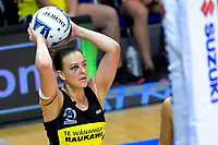 Claire Kersten looks for support during the ANZ Premiership netball match between the Central Pulse and Northern Stars at Te Rauparaha Arena in Wellington, New Zealand on Wednesday, 3 April 2019. Photo: Dave Lintott / lintottphoto.co.nz