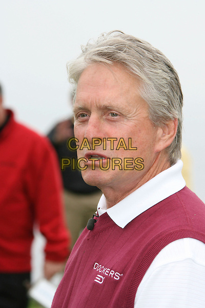 MICHAEL DOUGLAS.9th Annual Michael Douglas & Friends Celebrity Golf Event.held at the Trump National Golf Club, Rancho Palos Verdes, California, USA. .April 29th, 2007.sport headshot portrait .CAP/ADM/RE.©Russ Elliot/AdMedia/Capital Pictures