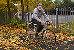 Pictured:  Russ Mantle is set to become the first person in the UK to have cycled one million miles in their lifetime<br /> <br /> Retired civil servant Russ Mantle is set to become the first person in the UK to cycle one million miles in their lifetime - having meticulously recorded his mileage for 67 years.  The keen cyclist will this week achieve the astonishing milestone at the age of 82 on his cherished Holdsworth road bike which he has owned since 1964.<br /> <br /> Since 1952 Mr Mantle has carefully recorded every ride in his diary as he cycled to and from work, competed in races and pedalled up some of the world's highest mountains during tours across Europe and America.  Mr Mantle - nicknamed 'mile-eater Mantle' by admiring friends in the cycling community - completed a staggering 22,550 miles in 2001, which is nearly enough to circumnavigate the globe.  SEE OUR COPY FOR DETAILS.<br /> <br /> © Simon Czapp/Solent News & Photo Agency<br /> UK +44 (0) 2380 458800