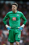 Wayne Hennessey of Crystal Palace during the English Premier League match at the Old Trafford Stadium, Manchester. Picture date: May 21st 2017. Pic credit should read: Simon Bellis/Sportimage