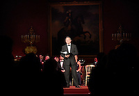 09 March 2016 - London, England - Hugh Bonneville performs as the Prince of Wales hosts a gala concert marking the 10th anniversary of the Children and the Arts charity at St James's Palace, London. Photo Credit: ALPR/AdMedia