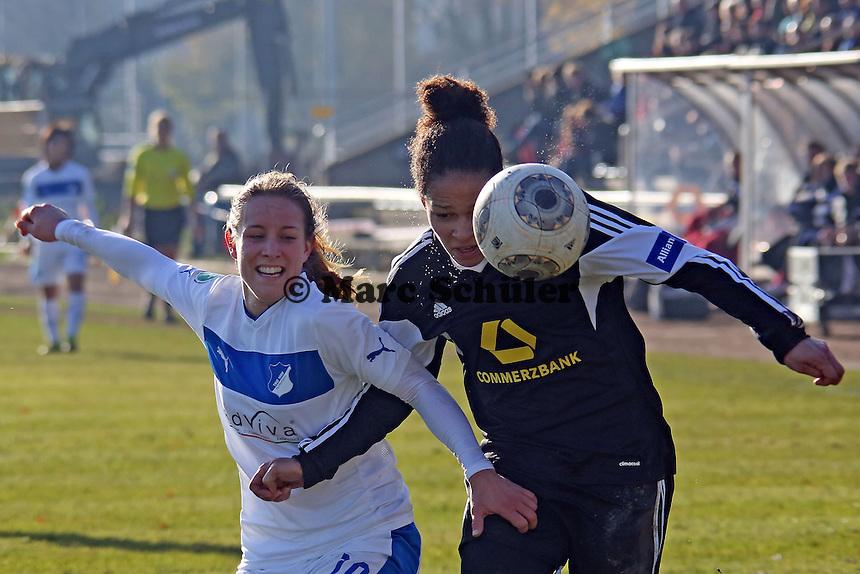 Celia Sasic (FFC) gegen Sabine Stoller (Hoffenheim) - 1. FFC Frankfurt vs. TSG 1899 Hoffenheim