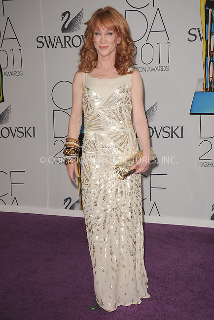 WWW.ACEPIXS.COM . . . . . .June 6, 2011...New York City.....Kathy Griffin attends the 2011 CFDA Fashion Awards at Alice Tully Hall, Lincoln Center on June 6, 2011 in New York City......Please byline: KRISTIN CALLAHAN - ACEPIXS.COM.. . . . . . ..Ace Pictures, Inc: ..tel: (212) 243 8787 or (646) 769 0430..e-mail: info@acepixs.com..web: http://www.acepixs.com .