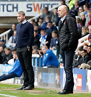 Peterborough United manager Grant McCann  looks on from the touchline<br /> <br /> Photographer David Shipman/CameraSport<br /> <br /> The EFL Sky Bet League One - Peterborough United v Fleetwood Town - Friday 14th April 2016 - ABAX Stadium  - Peterborough<br /> <br /> World Copyright &copy; 2017 CameraSport. All rights reserved. 43 Linden Ave. Countesthorpe. Leicester. England. LE8 5PG - Tel: +44 (0) 116 277 4147 - admin@camerasport.com - www.camerasport.com
