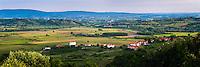 Slovenia wine region countryside, Goriska Brda (Gorizia Hills), Slovenia, Europe