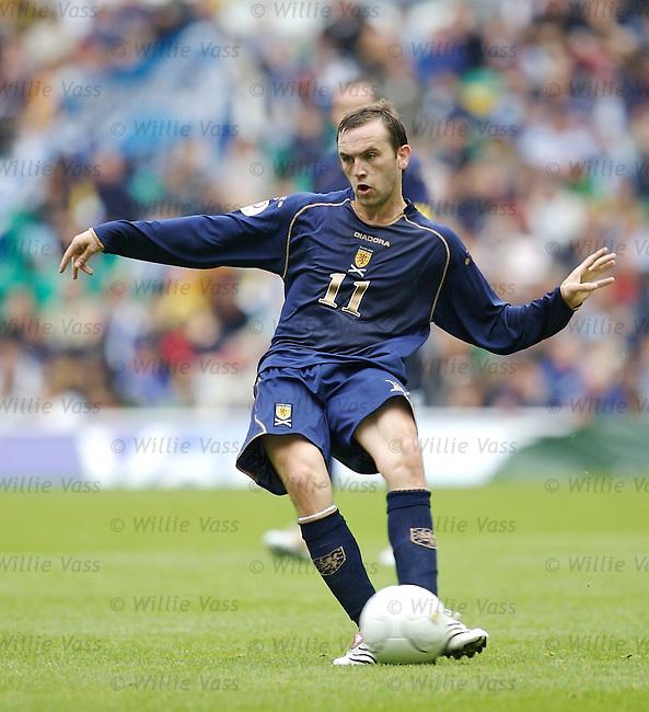 James McFadden, Scotland.stock season 2006-2007.pic willie vass
