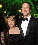 Susanne Theis and Guy Hagstette at the Gala on the Green benefitting the Discovery Green Conservancy Saturday Feb. 27,2010. (Dave Rossman Photo)