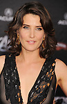 HOLLYWOOD, CA - APRIL 11: Cobie Smulders attends the World premiere of 'Marvel's Avengers' at the El Capitan Theatre on April 11, 2012 in Hollywood, California.