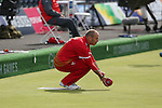Glasgow 2014 Commonwealth Games<br /> <br /> Robert Weale (Wales) competing in the lawn bowls singles<br /> <br /> 30.07.14<br /> &copy;Steve Pope-SPORTINGWALES