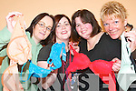 BRA-VO: Mums of the Knockanure and Duagh Parent and Toddler Groups who have joined.their bra forces together to help raise funds for cancer and enter the Guinness World Book of.Records. Pictured are Doreen Buckley, Elaine Foley, Priscilla O'Donoghue and Maggie Large.