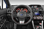 Car pictures of steering wheel view of a 2017 Subaru WRX STI - 4 Door Sedan Steering Wheel