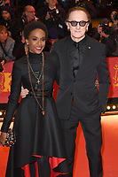 BERLIN, GERMANY - FEBRUARY 7: Lindiwe Suttle and Marius Mueller-Westernhagen attend The Kindness Of Strangers premiere and Opening Night Gala of the 69th Berlinale International Film Festival Berlin at the Berlinale Palace on February 7, 2018 in Berlin, Germany.<br /> CAP/BEL<br /> ©BEL/Capital Pictures
