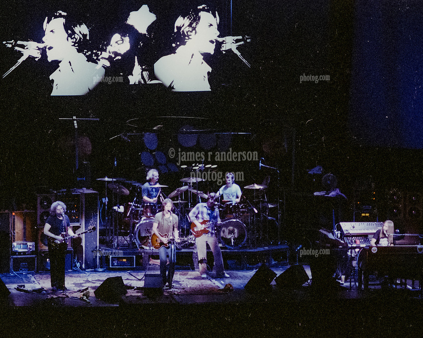 The Grateful Dead live at Radio City Music Hall, New York City Performing at this historic venue on Sunday 26 October 1980.