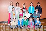 YOUTH CLUB: Member's of Óg-Ras Irish speaking youth club enjoying fun and games at the KDYS, Tralee on Friday front l-r: Seán Ó Dubhghaill, Seán Ó Ficheallaigh, Rónán Ó Moolruanaigh, Róisín Ní Moolruanaigh and Ruairí Ó hAllmhuráin. Centre l-r: Laura Ní Aogáin, Sinéad Ní Fhuaráin, Eoin Breathnach and Shane Elton. Back l-r: Laura Ní Fhloinn, Ailbhe Ní Mhongáin, Harry Ó Ficheallaigh, Shauna Ní Fhloinn and Seán Ó Coileáin.