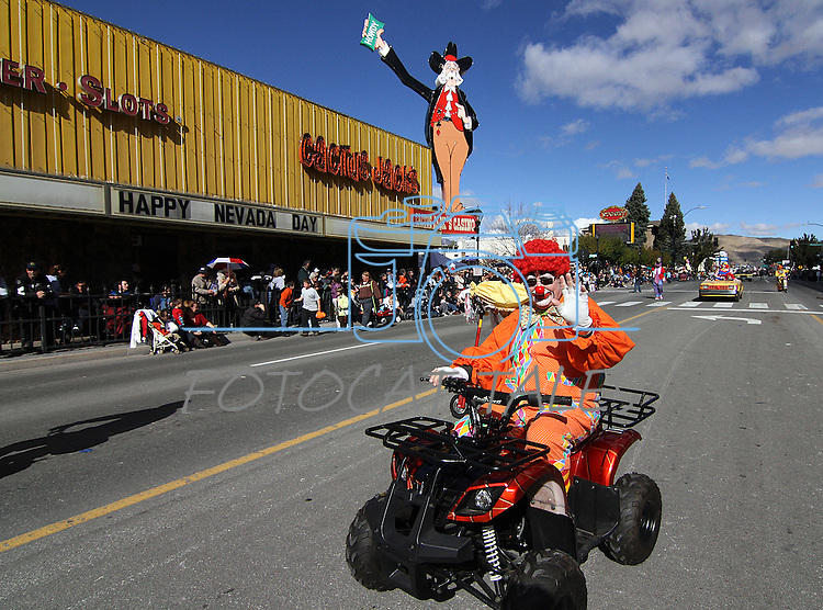The Kerak Shriners entertain the crowd at the Nevada Day parade on Saturday, Oct. 30, 2010, in Carson City, Nev. .Photo by Cathleen Allison