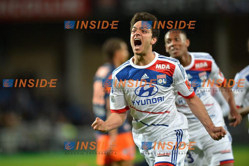 Clement Grenier (lyo) - Anthony Martial (lyo) .Football Calcio 2012/2013.Ligue 1 Francia.Foto Panoramic / Insidefoto .ITALY ONLY