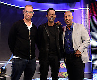 NEW YORK, NY - MAY 14, 2014: Actor Chris Rock pictured at BET's 106 & Park Studio for his announcement as the host of the 2014 BET Award Show in New York City © HP/Starlitepics