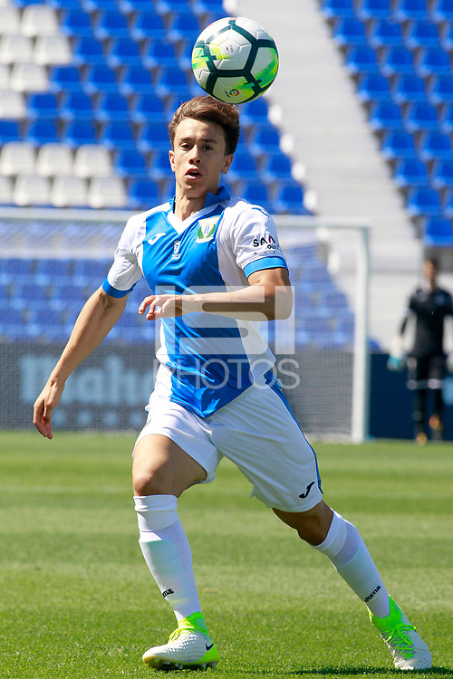 CD Leganes' Junior during friendly match. August 12,2017.  *** Local Caption *** &copy; pixathlon<br /> Contact: +49-40-22 63 02 60 , info@pixathlon.de