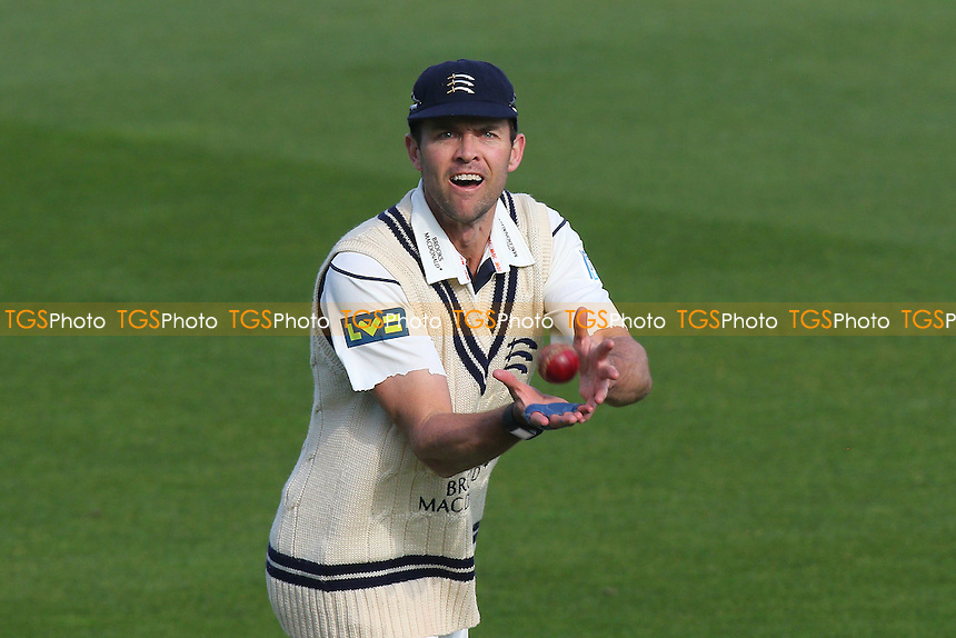 James Franklin of Middlesex fields the ball during Surrey CCC vs Middlesex CCC, Friendly Match Cricket at the Kia Oval on 22nd March 2016