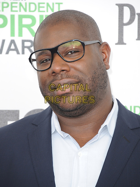 SANTA MONICA, CA, MARCH 01: Steve McQueen at The 2014 Film Independent Spirit Awards held at Santa Monica Beach in Santa Monica, California, USA on March 1st, 2014.                                                                              <br /> CAP/DVS<br /> &copy;Debbie VanStory/Capital Pictures