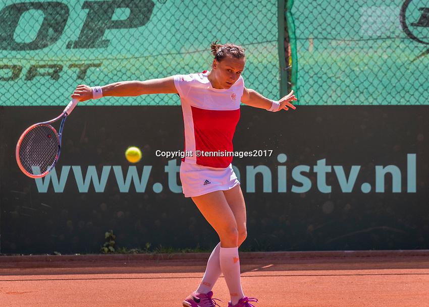 The Hague, Netherlands, 11 June, 2017, Tennis, Play-Offs Competition, Sandra Zaniewska Egeria Alta<br /> Photo: Henk Koster/tennisimages.com