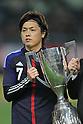 Yasuhito Endo (JPN), FEBRUARY 24, 2012 - Football / Soccer : KIRIN Challenge Cup 2012 mach between Japan 3-1 Iceland at Nagai Stadium in Osaka, Japan. (Photo by Akihiro Sugimoto/AFLO SPORT) [1080]