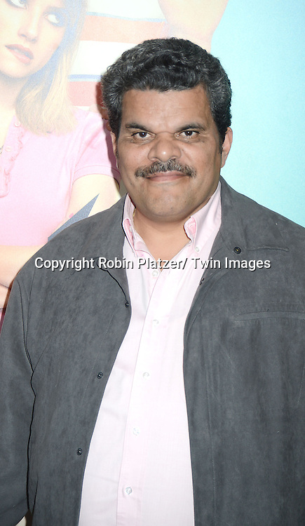 "Luis Guzman attends the World Premiere of ""We're The Millers"" on August 1, 2013 at the Ziegfeld Theatre in New York City. The movie stars Jennifer Aniston, Jason Sudeikis, Emma Roberts, Kathryn Hahn, Will Poulter, Ed Helms and Luis Guzman."