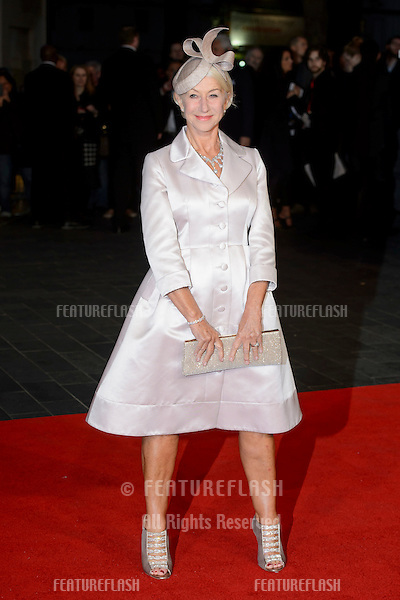 Dame Helen Mirren at the premiere of &quot;Trumbo&quot;, as part of the London Film Festival 2015, at the Odeon Leicester Square, London.<br /> October 8, 2015  London, UK<br /> Picture: Dave Norton / Featureflash