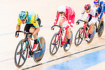 Sultanmurat Miraliyev of Kazakhstan competes on the Men's Omnium Tempo Race 10km during the 2017 UCI Track Cycling World Championships on 15 April 2017, in Hong Kong Velodrome, Hong Kong, China. Photo by Marcio Rodrigo Machado / Power Sport Images