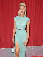 Sarah Jayne Dunn at the British Soap Awards 2018, Hackney Town Hall, Mare Street, London, England, UK, on Saturday 02 June 2018.<br /> CAP/CAN<br /> &copy;CAN/Capital Pictures