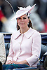 KATE, DUCHESS OF CAMBRIDGE<br /> attends the Trooping of the Colour.<br /> The Trooping marks the official birthday of the Queen_15/6/2013<br /> Mandatory Credit Photo: &copy;A. Reddy/NEWSPIX INTERNATIONAL<br /> <br /> **ALL FEES PAYABLE TO: &quot;NEWSPIX INTERNATIONAL&quot;**<br /> <br /> IMMEDIATE CONFIRMATION OF USAGE REQUIRED:<br /> Newspix International, 31 Chinnery Hill, Bishop's Stortford, ENGLAND CM23 3PS<br /> Tel:+441279 324672  ; Fax: +441279656877<br /> Mobile:  07775681153<br /> e-mail: info@newspixinternational.co.uk