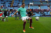 John Terry of Aston Villa warming up before the match against Wolverhampton Wanderers.<br /> <br /> Photographer Leila Coker/CameraSport<br /> <br /> The EFL Sky Bet Championship - Aston Villa v Wolverhampton Wanderers - Saturday 10th March 2018 - Villa Park - Birmingham<br /> <br /> World Copyright &copy; 2018 CameraSport. All rights reserved. 43 Linden Ave. Countesthorpe. Leicester. England. LE8 5PG - Tel: +44 (0) 116 277 4147 - admin@camerasport.com - www.camerasport.com