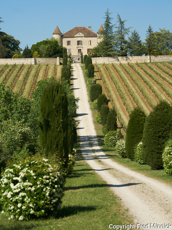 Chateau Chambert in Cahors, France. Operated by Philippe Lejeune