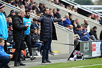 O's Justin EDinburgh during AFC Fylde vs Leyton Orient, Vanarama National League Football at Mill Farm on 3rd November 2018