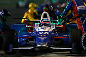 Verizon IndyCar Series<br /> Rainguard Water Sealers 600<br /> Texas Motor Speedway, Ft. Worth, TX USA<br /> Saturday 10 June 2017<br /> Takuma Sato, Andretti Autosport Honda pit stop<br /> World Copyright: Phillip Abbott<br /> LAT Images<br /> ref: Digital Image abbott_texasIC_0617_6044