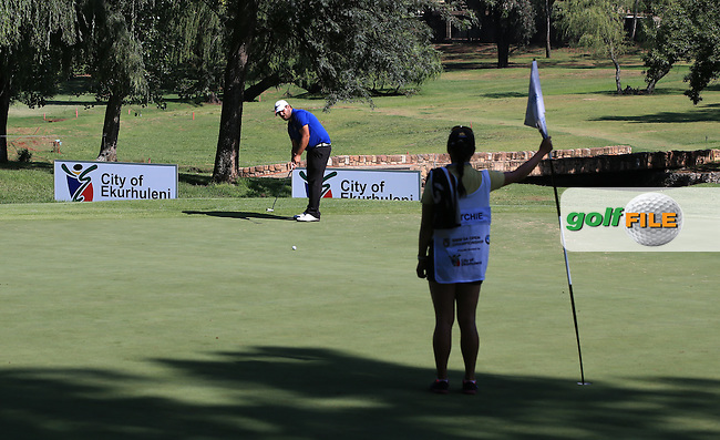Pin set right on the edge of the shadows on the 7th during the completion of Round Two of the 2016 BMW SA Open hosted by City of Ekurhuleni, played at the Glendower Golf Club, Gauteng, Johannesburg, South Africa.  09/01/2016. Picture: Golffile | David Lloyd<br /> <br /> All photos usage must carry mandatory copyright credit (&copy; Golffile | David Lloyd)