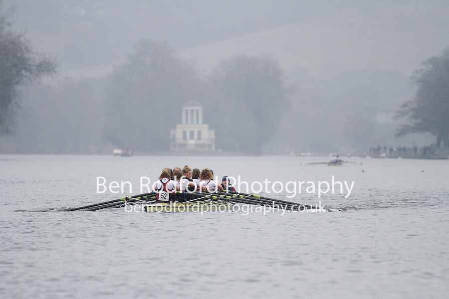 Crew: 53 - Bristol Univ  - W.IM3.8+ <br /> <br /> Henley Fours &amp; Eights Head 2017<br /> <br /> To purchase this photo, or to see pricing information for Prints and Downloads, click the blue 'Add to Cart' button at the top-right of the page.