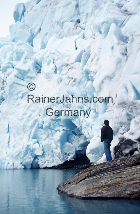 Norwegen, Nordland, am Svartisen Gletscher | Norway, Nordland, at Svartisen Glacier
