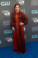 Leslie Mann attends the 23rd Annual Critics' Choice Awards at Barker Hangar in Santa Monica, Los Angeles, USA, on 11 January 2018. Photo: Hubert Boesl - NO WIRE SERVICE - Photo: Hubert Boesl/dpa /MediaPunch ***FOR USA ONLY***