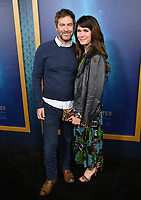 Mark Duplass &amp; Katie Aselton at the Los Angeles premiere of &quot;The Shape of Water&quot; at the Academy of Motion Picture Arts &amp; Sciences, Beverly Hills, USA 15 Nov. 2017<br /> Picture: Paul Smith/Featureflash/SilverHub 0208 004 5359 sales@silverhubmedia.com