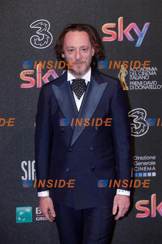 Massimiliano Rossi <br /> Roma 27-03-2017. Premio David di Donatello 2017.<br /> Rome March 27th 2017. David di Donatello ceremony 2017. <br /> Foto Samantha Zucchi Insidefoto