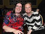Maria O'Shea and Paula Ryan at the Dunleer S Factor the Grove Hotel. Photo:Colin Bell/pressphotos.ie
