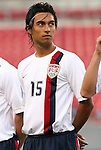 15 March 2008: Kamani Hill (USA). The United States U-23 Men's National Team defeated the Honduras U-23 Men's National Team 1-0 at Raymond James Stadium in Tampa, FL in a Group A game during the 2008 CONCACAF's Men's Olympic Qualifying Tournament.