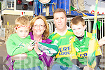Cian Brosnan Cork, Claire, Cieran and Shane Brosnan Tralee welcoming Sam to Rathmore on Monday