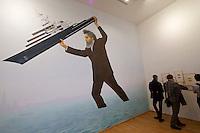 55th Art Biennale in Venice - The Encyclopedic Palace (Il Palazzo Enciclopedico).<br /> Giardini. UK Pavilion. Jeremy Deller (UK). &quot;English Magic&quot;, 2013.